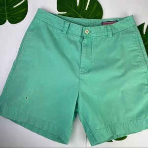 Vineyard Vines Dock Shorts Mint Green W32
